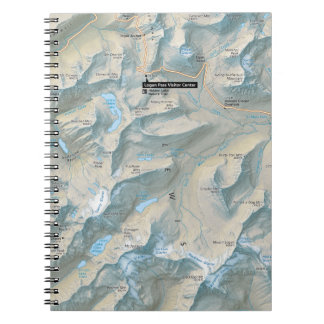 Glacier Going-to-the-Sun Road (Montana) notebook