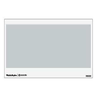 Glacier Gray Grey Trend Color Background Room Decals