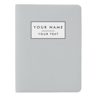 Glacier Gray High End Solid Color Extra Large Moleskine Notebook