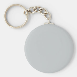 Glacier Gray High End Solid Color Keychain
