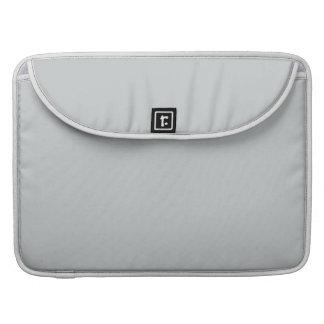 Glacier Gray High End Solid Color MacBook Pro Sleeves