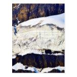 Glacier In Banff Canada Postcard