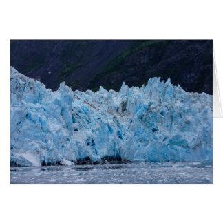 Glacier in Prince William Sound Alaska Card