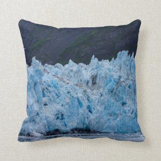 Glacier in Prince William Sound Alaska Throw Pillow