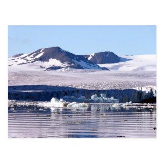 Glacier in Svalbard Postcard