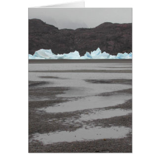 Glacier in Torres del Paines, NP, Chile Card