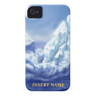 Glacier iPhone Case-Mate w/ nametag space