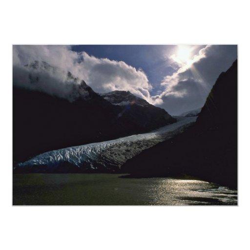 Glacier Landing Invitations