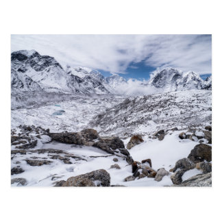 Glacier Landscape in Snowy Mountains (Himalayas) Postcard