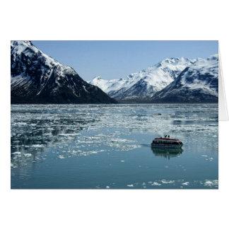 Glacier lifeboat card
