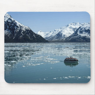 Glacier lifeboat mouse pad