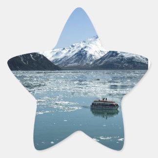 Glacier lifeboat star sticker