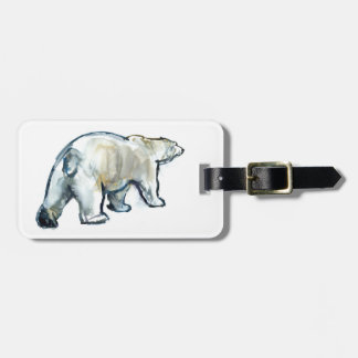 Glacier MInt Luggage Tag