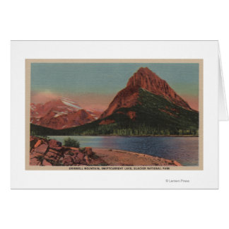 Glacier, MT - View of Grinnell Mt. & Swiftcurren Card