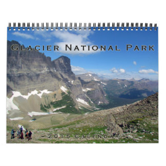 Glacier National Park 2015 Calendar
