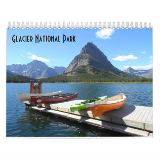Glacier National Park 2016 Calendar