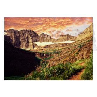 Glacier National Park Grinnell Glacier Trail Card