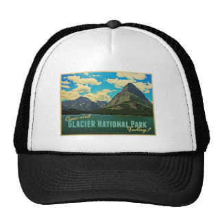 Glacier National Park Trucker Hat