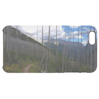 Glacier National Park Highline Trail Burnout Clear iPhone 6 Plus Case