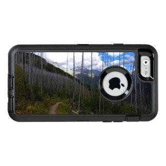 Glacier National Park Highline Trail Burnout OtterBox Defender iPhone Case