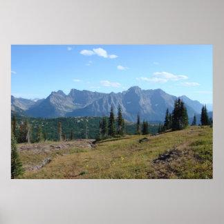 Glacier National Park - Highline Trail Poster