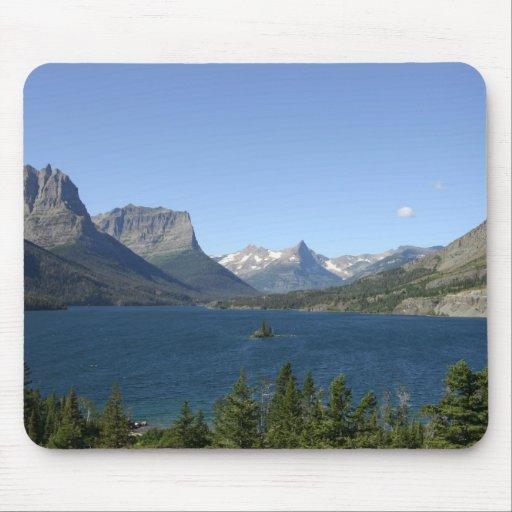 Glacier National Park - Lake View Mousepad