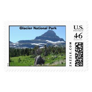 Glacier National Park Logan Pass Postage Stamp