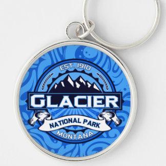 Glacier National Park Logo Keychain