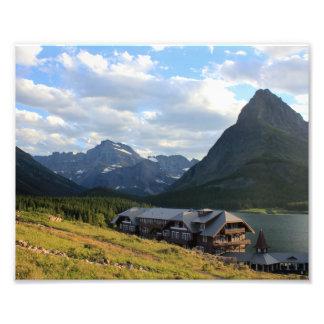 Glacier National Park- Many Glacier Hotel Photograph