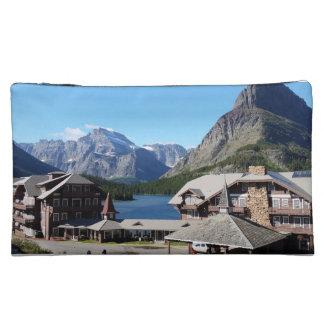 Glacier National Park Many Glacier Makeup Bag
