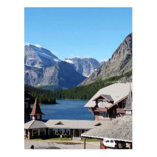 Glacier National Park Many Glacier Postcard