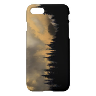 Glacier National Park Menacing Sky and Trees iPhone 7 Case