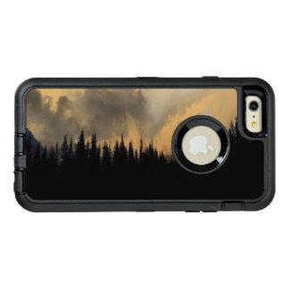 Glacier National Park Menacing Sky and Trees OtterBox Defender iPhone Case