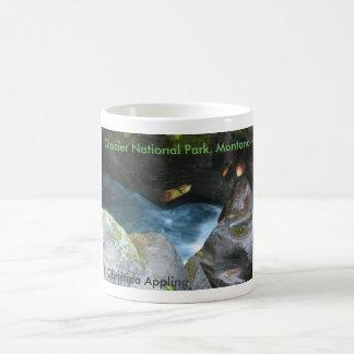 Glacier National Park, Montana Avalanche Gorge Coffee Mug