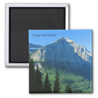 Glacier National Park Mountain Magnet