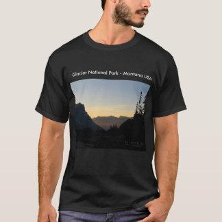 Glacier National Park - Mountain Sunrise T-Shirt