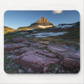 Glacier National Park Mountains Mouse Pad
