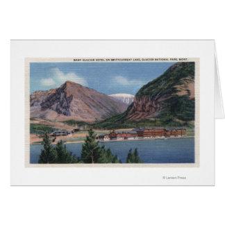Glacier National Park, MT - Many Glacier Hotel 2 Card