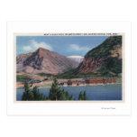 Glacier National Park, MT - Many Glacier Hotel 2 Postcard