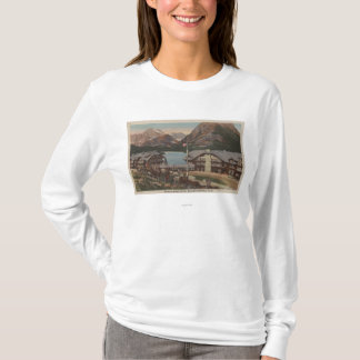 Glacier National Park, MT - Many Glacier Hotel T-Shirt