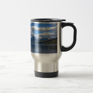 Glacier National Park photography. 15 Oz Stainless Steel Travel Mug