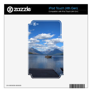 Glacier National Park photography. Decals For iPod Touch 4G