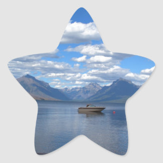 Glacier National Park photography. Star Stickers