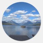 Glacier National Park photography. Sticker