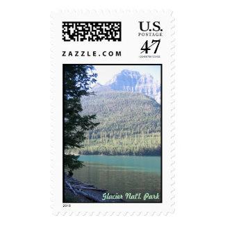 Glacier National Park Postage