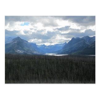 Glacier National Park Post Card