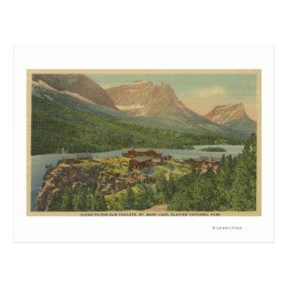 Glacier National Park, Postcard