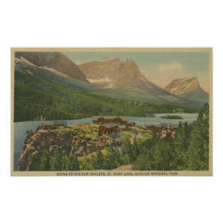 Glacier National Park, Print