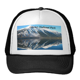 Glacier National Park reflections Trucker Hat