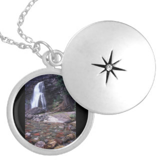 Glacier National Park Round Locket Necklace